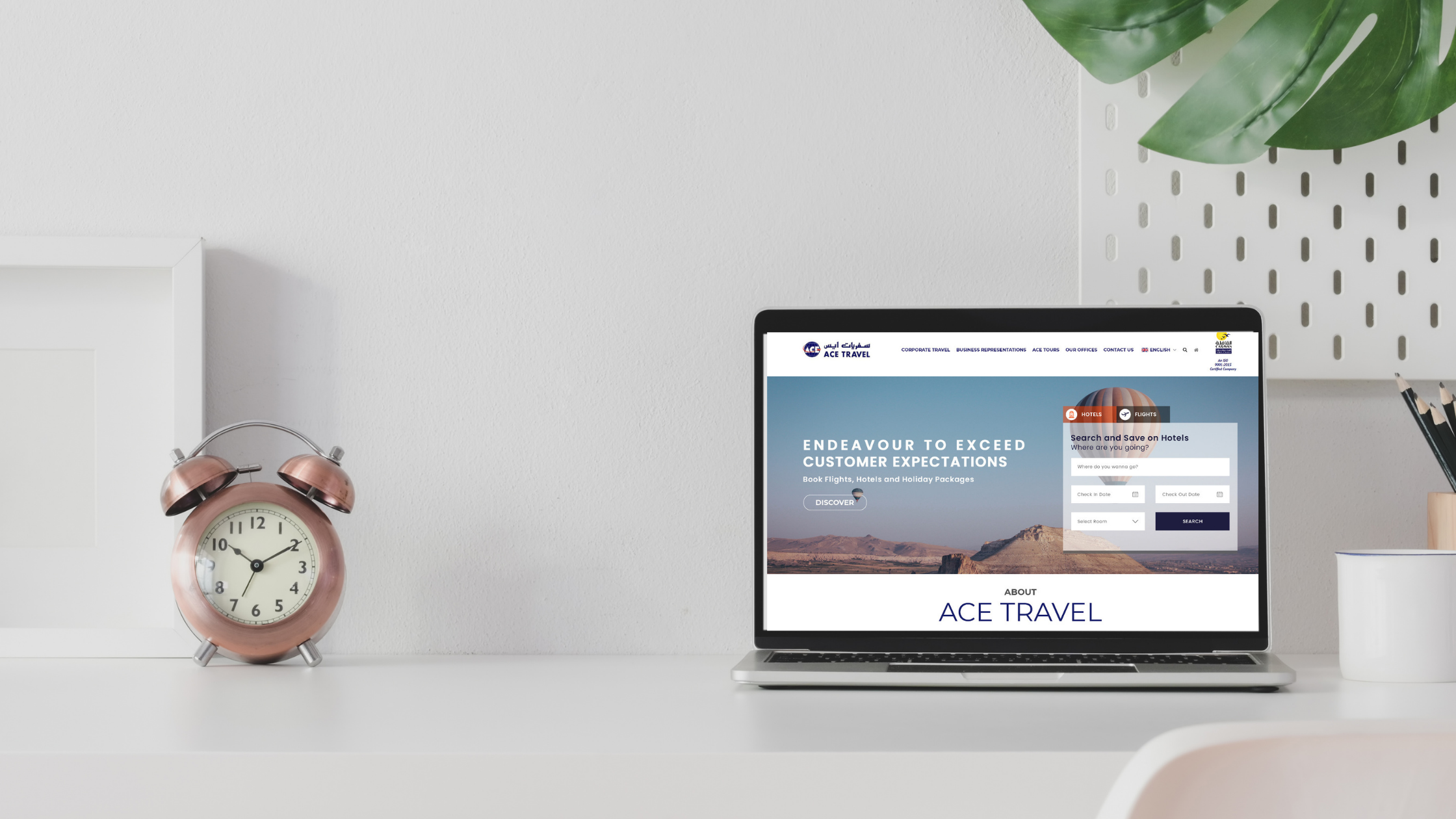 ACE TRAVEL New Website Launched